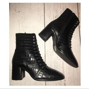 ASOS E8 by MIISTA Emma Lace-Up Boot